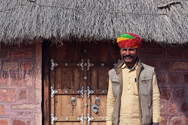 'I knew I wanted to do something here in my village'