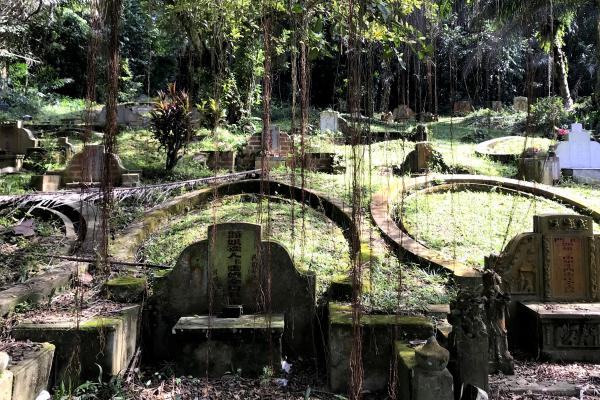 A cemetery walk of history, art and nature