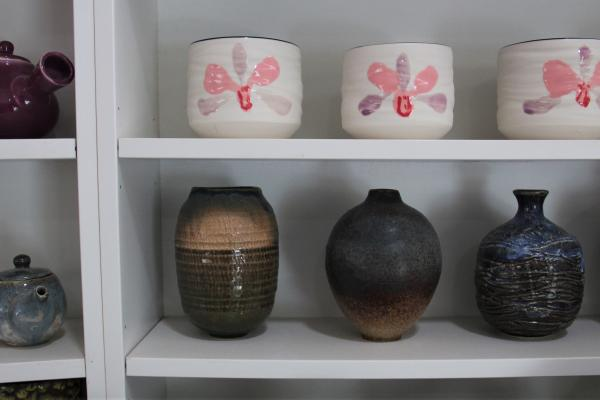 A pottery workshop with a social mission