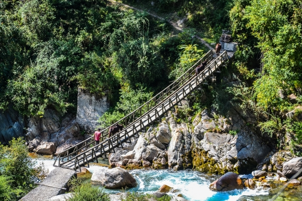 Trek in the Himalayas for a lofty purpose